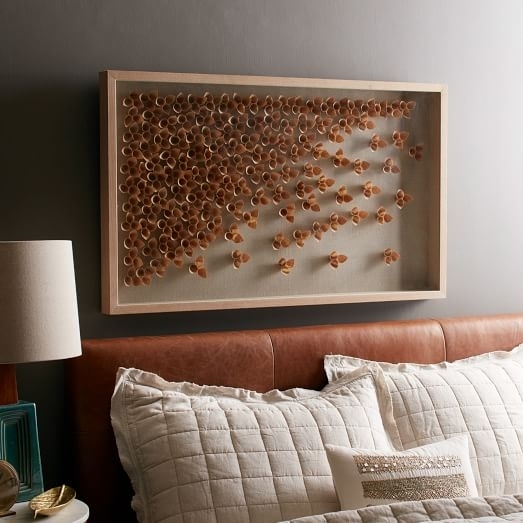 Nature Of Wood Wall Art – Cascade | West Elm In Abstract Nature Wall Art (View 6 of 15)