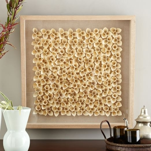 Nature Of Wood Wall Art – Light Wood | West Elm With Regard To Rectangular Wall Accents (View 7 of 15)