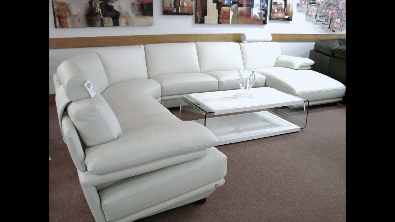 Natuzzi Leather Sectional Sofa – Youtube In Natuzzi Sectional Sofas (Image 6 of 10)