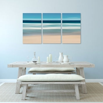 Nautical Wall Art, Canvas Triptych 3 From Katherine Gendreau Within Abstract Nautical Wall Art (View 7 of 15)
