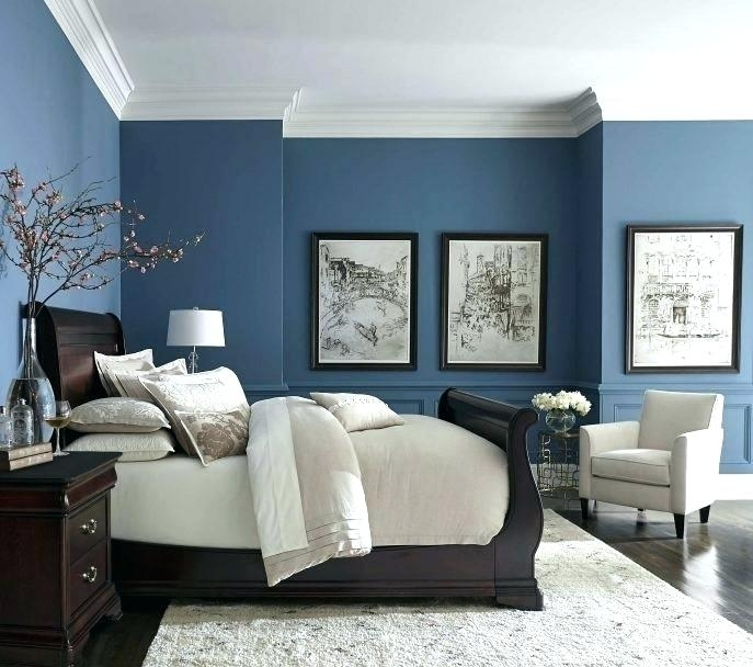 Navy Bedroom Walls Dark Navy Blue Wall Decor – Empiricos (Image 10 of 15)