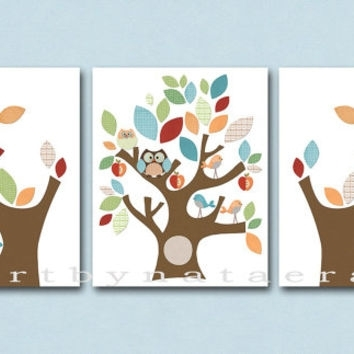 Neutral Nursery Canvas Art Baby Room From Artbynataera On Etsy In Baby Room Canvas Wall Art (View 7 of 15)