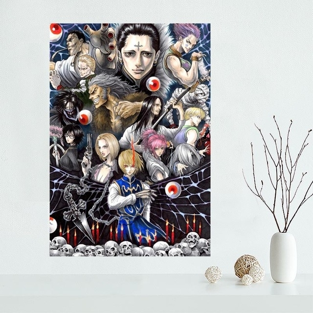 New Arrival Custom Hunter X Hunter Canvas Poster Home Decoration Intended For Silk Fabric Wall Art (View 13 of 15)
