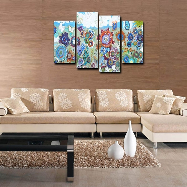 New Fashion Design For Canvas Prints Canvas Wall Art Flower With Regard To Leadgate Canvas Wall Art (Image 11 of 15)