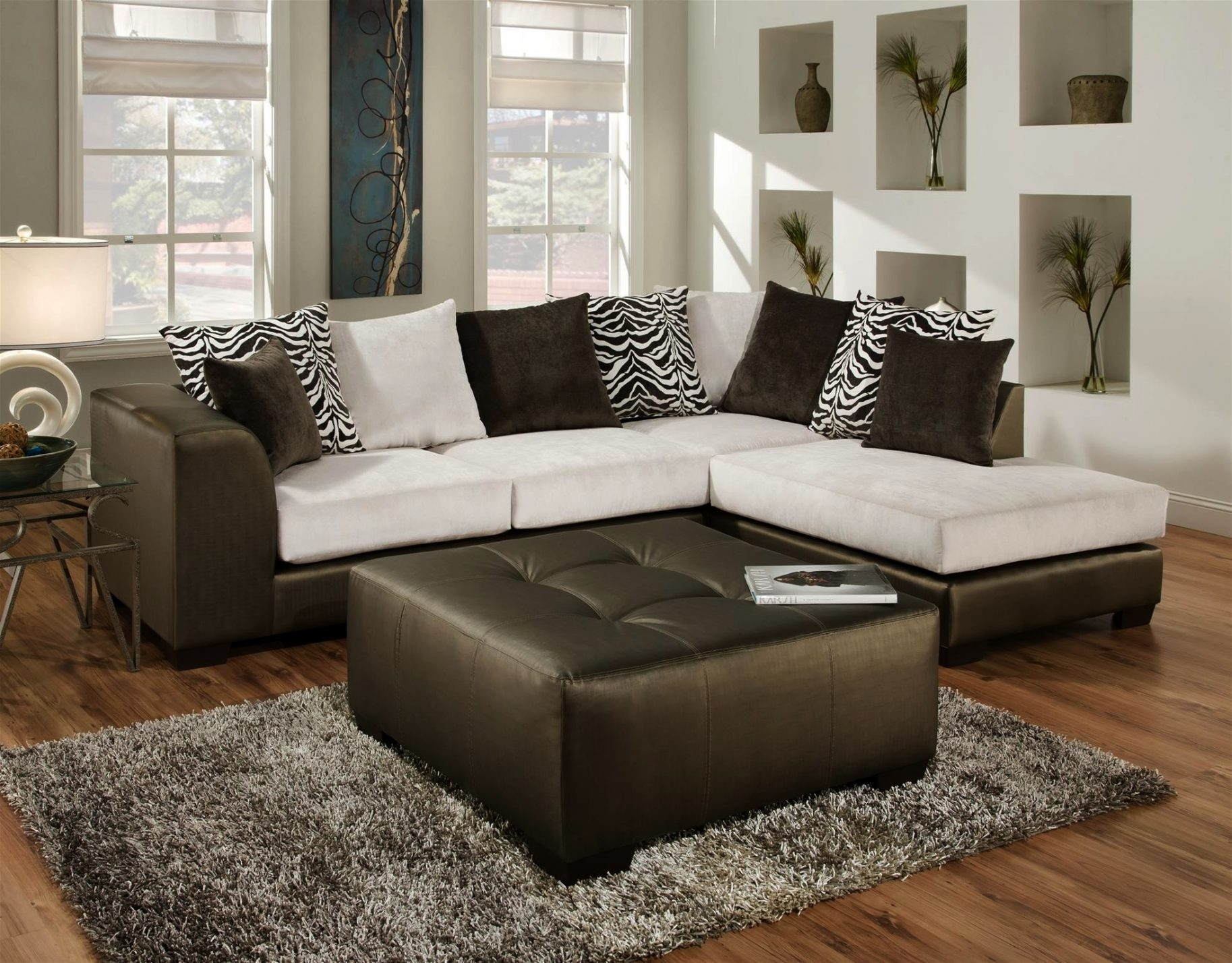 New Sectional Sofas Tampa 14 In 10 Foot Sectional Sofa With Intended Regarding Tampa Sectional Sofas (Image 5 of 10)