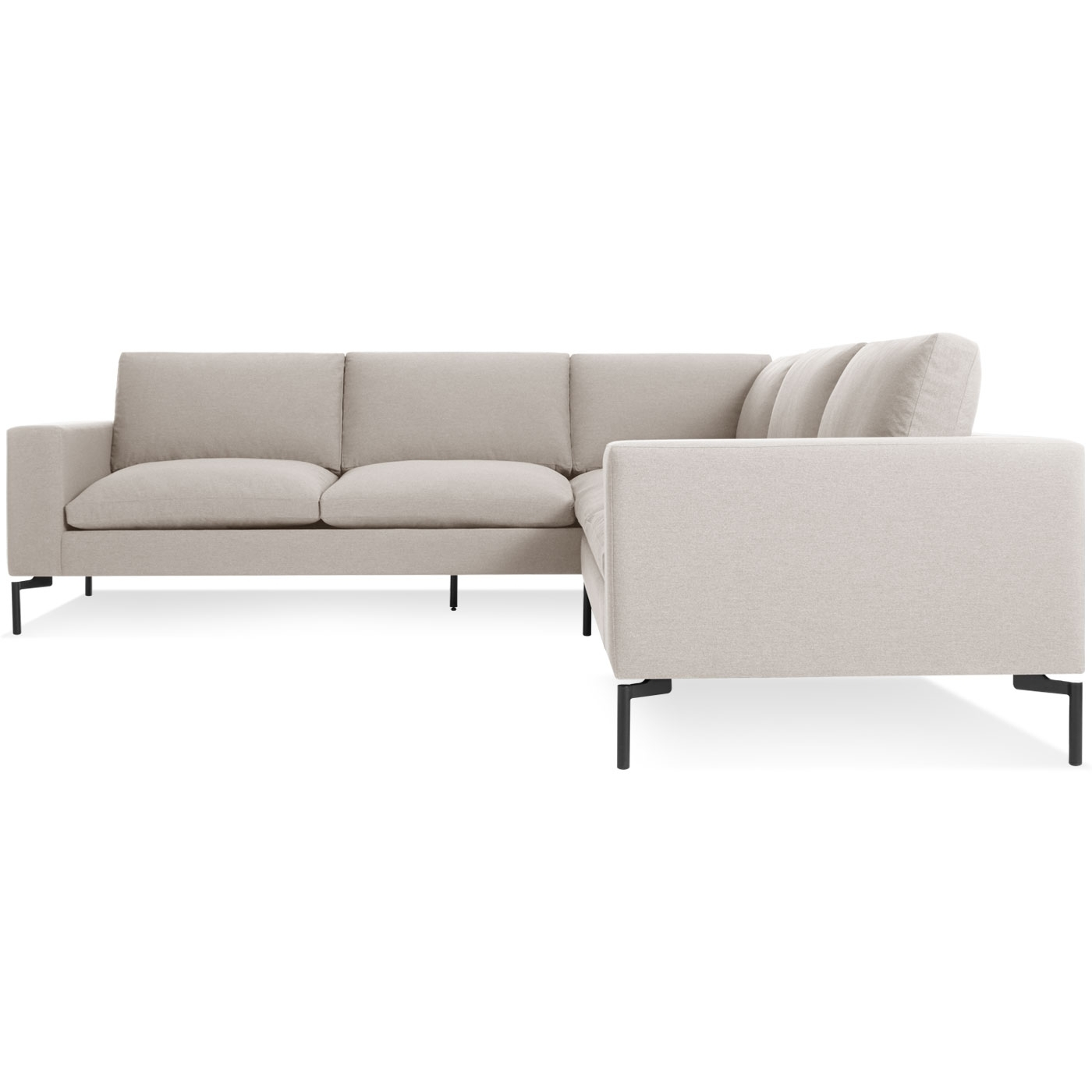 New Standard Small Sectional Sofa – Modern Sofas | Blu Dot Regarding Small Sectional Sofas (View 9 of 10)