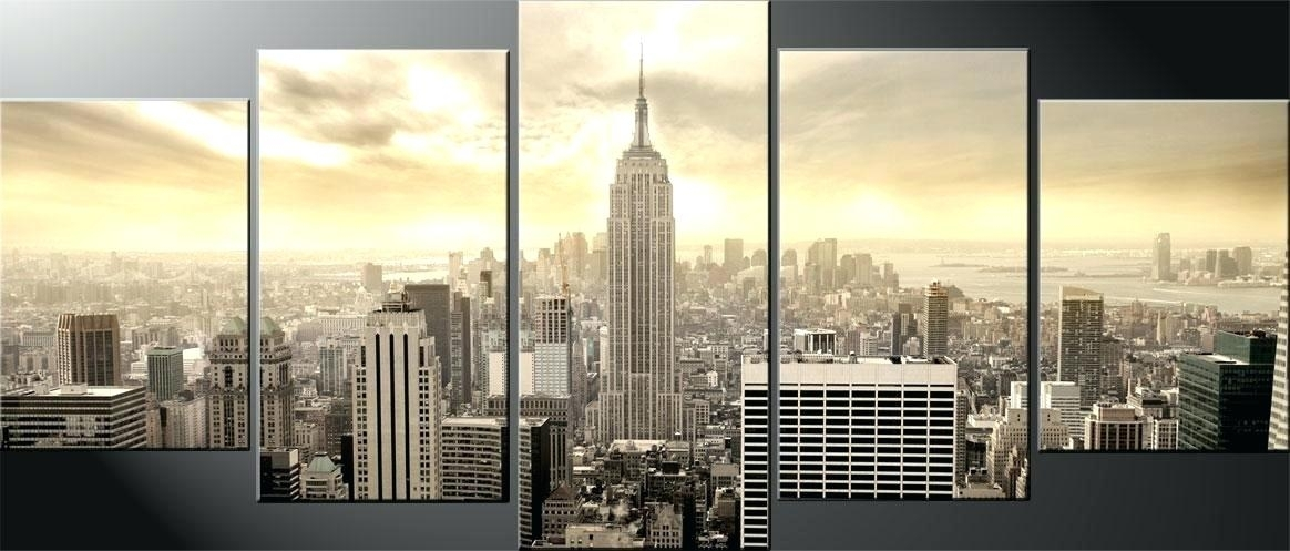 New York City Wall Art Featured Image Of New City Canvas Wall Art Intended For Canvas Wall Art Of New York City (View 2 of 15)