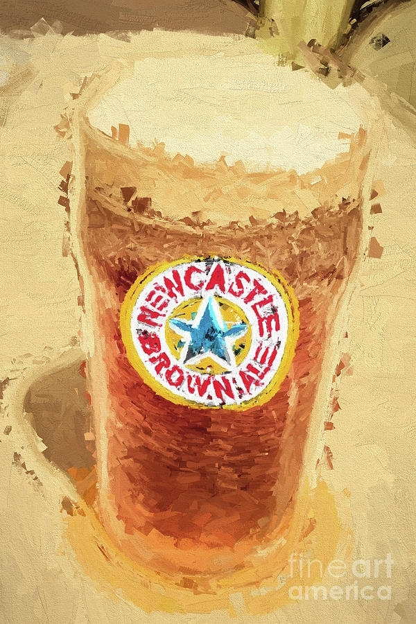 Newcastle Brown Ale Digital Artwork Photographjorgo Regarding Newcastle Canvas Wall Art (View 10 of 15)