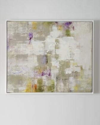 Next' Framed Abstract Art – Neiman Marcus For Neutral Abstract Wall Art (View 10 of 15)