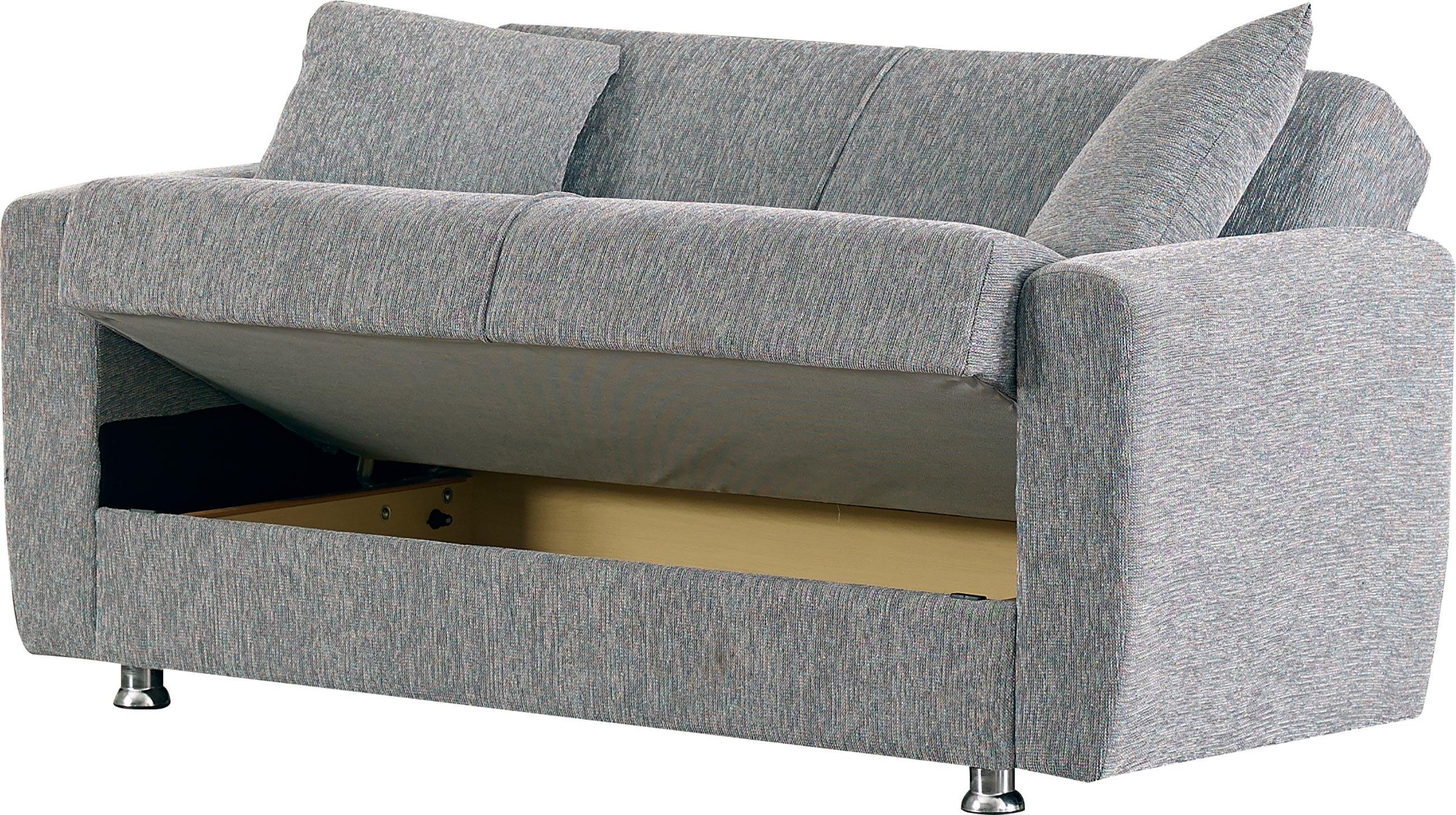 Niagara Gray Fabric Loveseatempire Furniture Usa Pertaining To Niagara Sectional Sofas (Image 8 of 10)