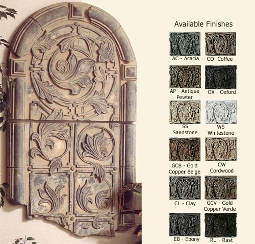 Nice Ideas Architectural Wall Decor With Accents Outdoor – Decoration Inside Architectural Wall Accents (View 6 of 15)