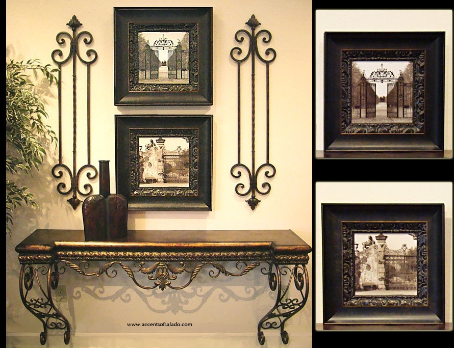 Noir Et Blanc Architectural Prints Within Architectural Wall Accents (View 11 of 15)