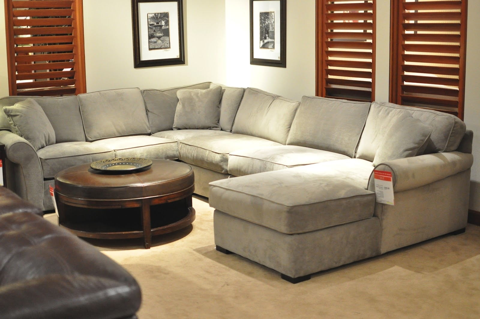 Not So Newlywed Mcgees: Shopping For A Sectional Within Phoenix Sectional Sofas (Image 7 of 10)