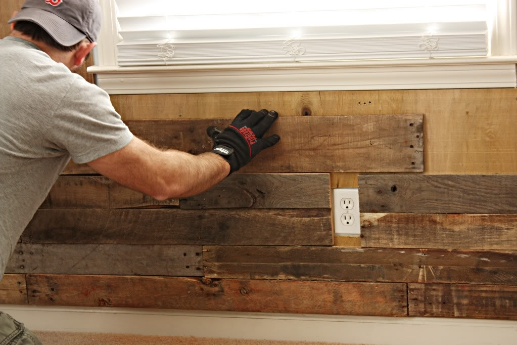 Nursery News – Accent Wall – Bower Power Pertaining To Wood Pallets Wall Accents (Image 9 of 15)