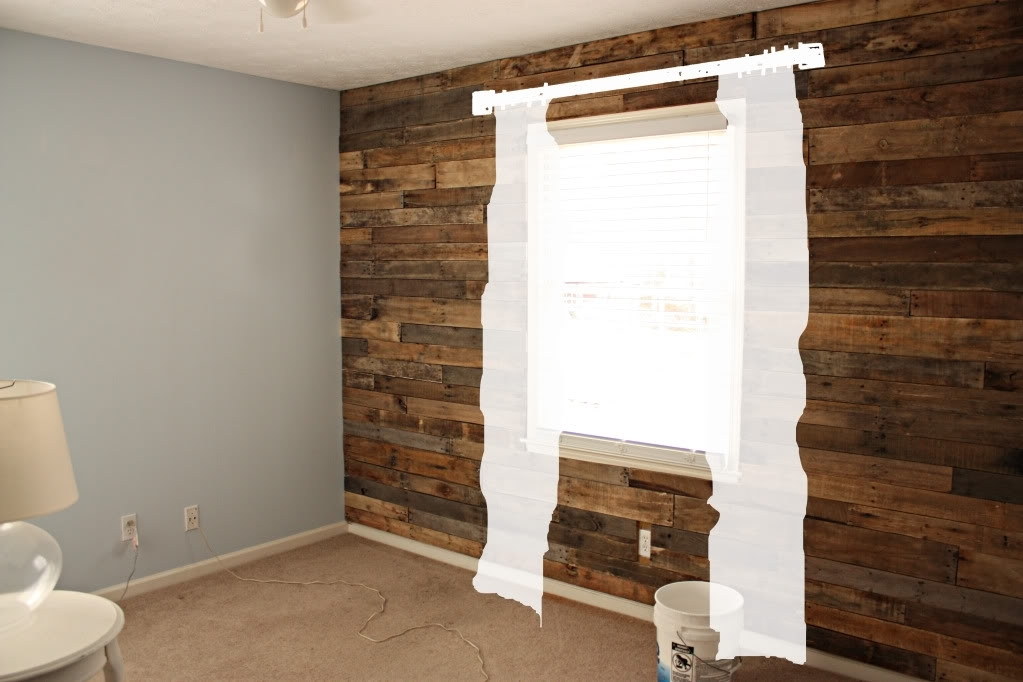 Nursery News – Accent Wall – Bower Power Throughout Wall Accents With Pallets (View 14 of 15)