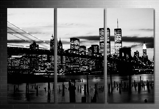 Nyc Skyline Canvas Wall Art Designs New York Inside City Remodel 6 Within Canvas Wall Art Of New York City (Image 10 of 15)