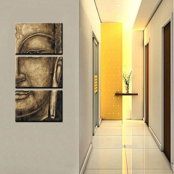 Oem Customized Framed Canvas Art Prints Buddha Wall Art Canvas Within Johannesburg Canvas Wall Art (View 14 of 15)