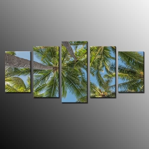 Oem Factory For Large Canvas Print Wall Art Painting Picture Palm For Canvas Wall Art Of Philippines (Image 7 of 15)