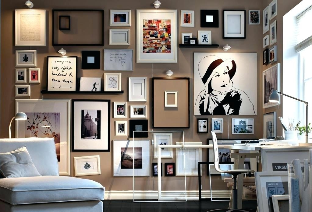Office Wall Ideas Frames Wall Art Decor For Home Office Ideas For White Fabric Wall Art (Image 11 of 15)