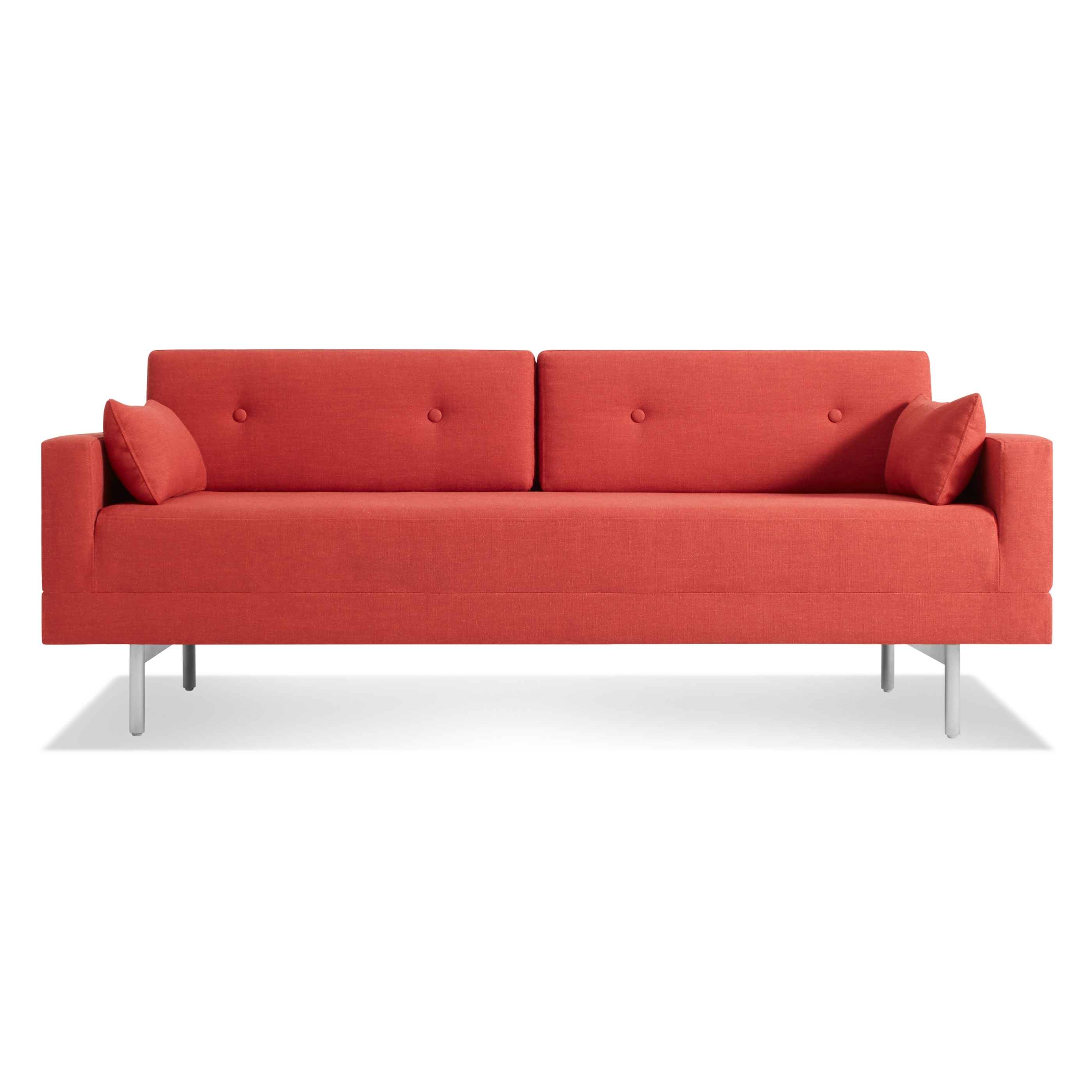 One Night Stand Sleeper Sofa – Modern Seating – Blu Dot In Red Sleeper Sofas (Image 7 of 12)