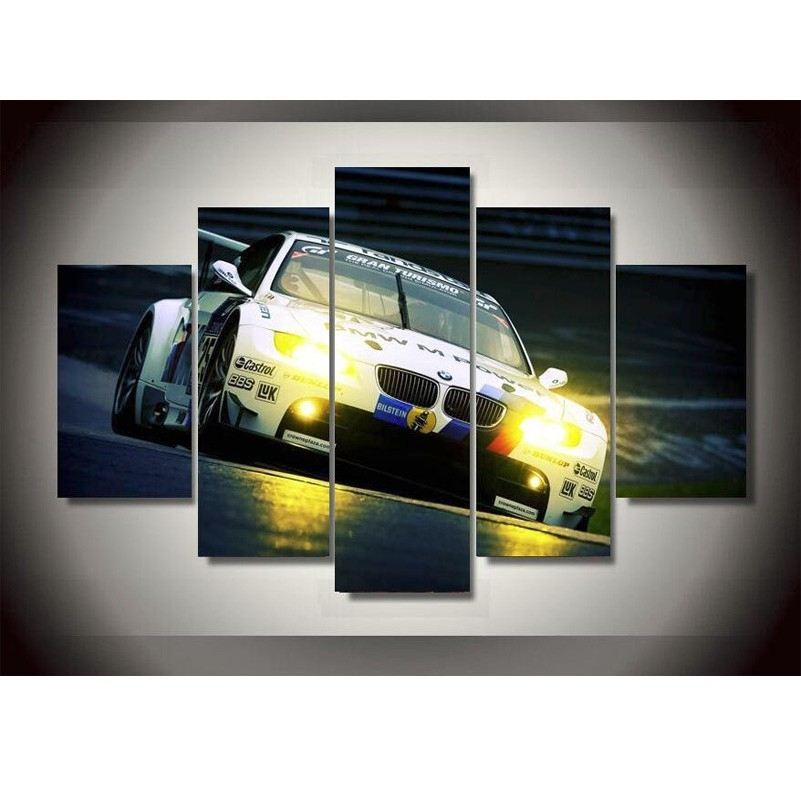 Online Get Cheap Bmw Printing  Aliexpress   Alibaba Group Intended For Bmw Canvas Wall Art (Image 14 of 15)