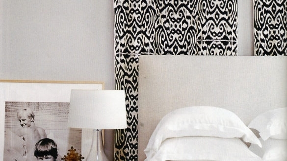 Opulent Design Ideas How To Hang Fabric On Walls Gr (Image 10 of 15)