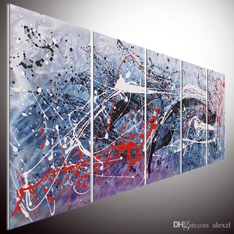 Original Abstract Wall Art. Home Office Decor (View 14 of 15)