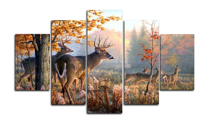 Featured Image of Deer Canvas Wall Art