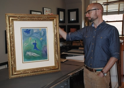 Original Signed Lithographs And Etchings | Georgetown Frame Shoppe Pertaining To Washington Dc Framed Art Prints (Image 7 of 15)