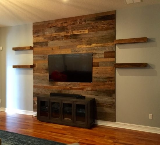 Orlando Reclaimed Wood Walls | Custom Wood Walls with Reclaimed Wood Wall Accents