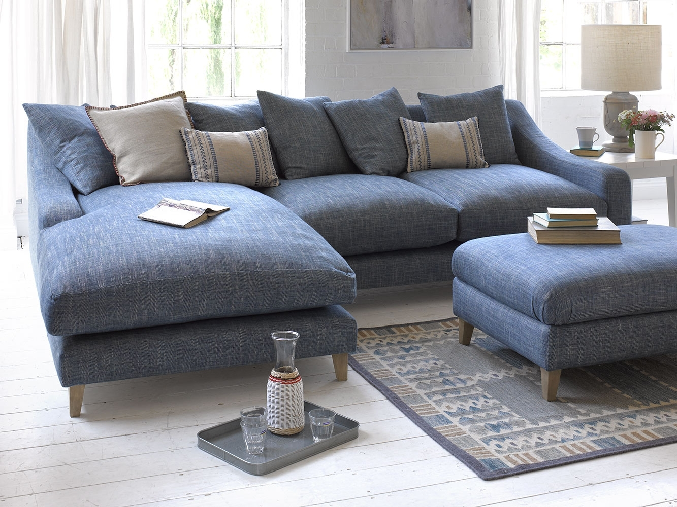 Oscar Chaise Sofa | Comfy Classic Chaise | Loaf with regard to Long Chaise Sofas