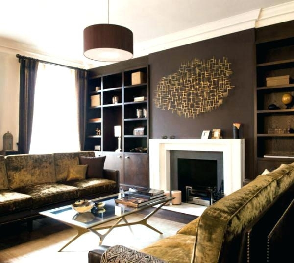 Featured Image of Wall Accents Over Fireplace