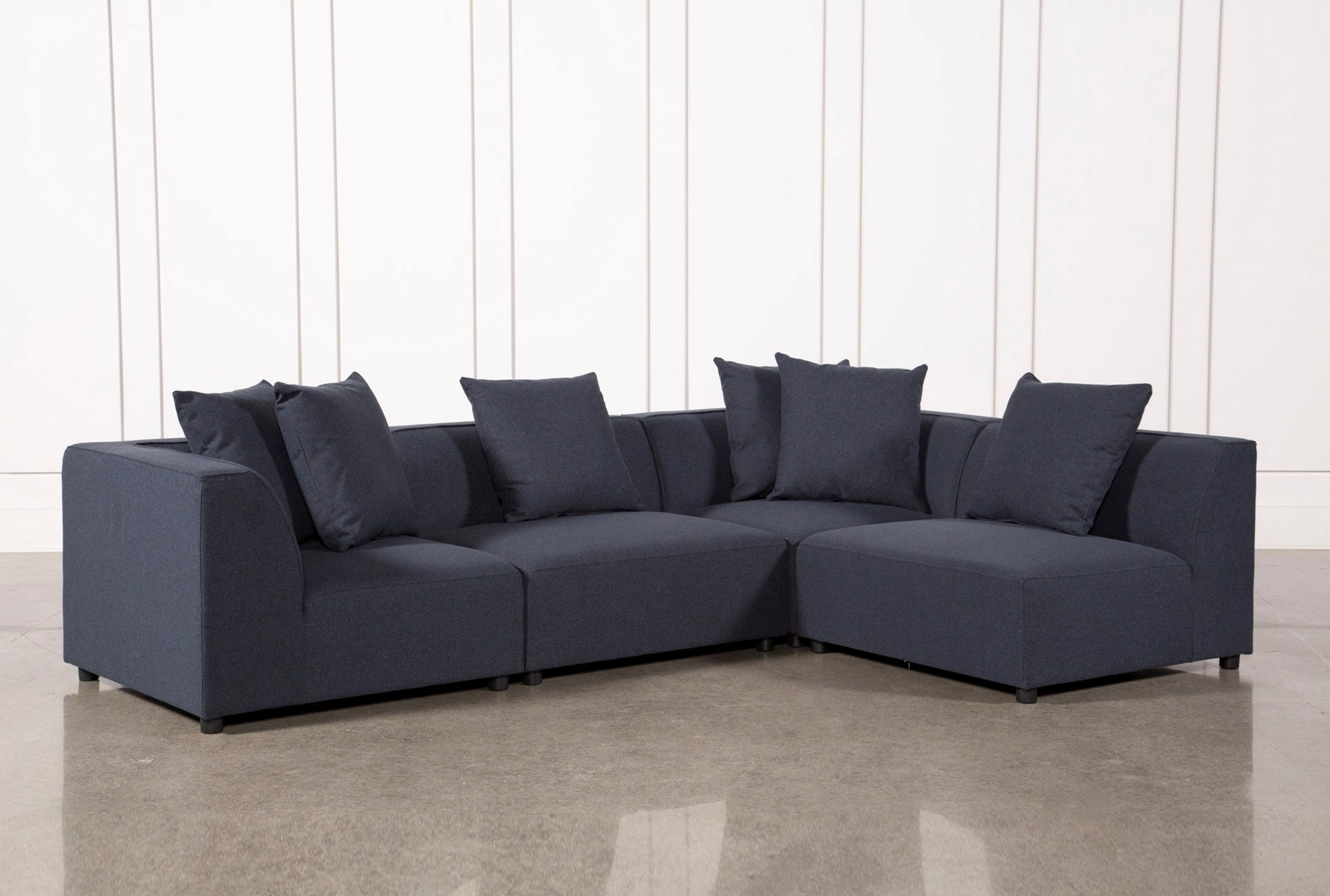 Oversized Grey Sofa Fresh Sectional Sofas Free Assembly With Pertaining To Living Spaces Sectional Sofas (Image 7 of 10)