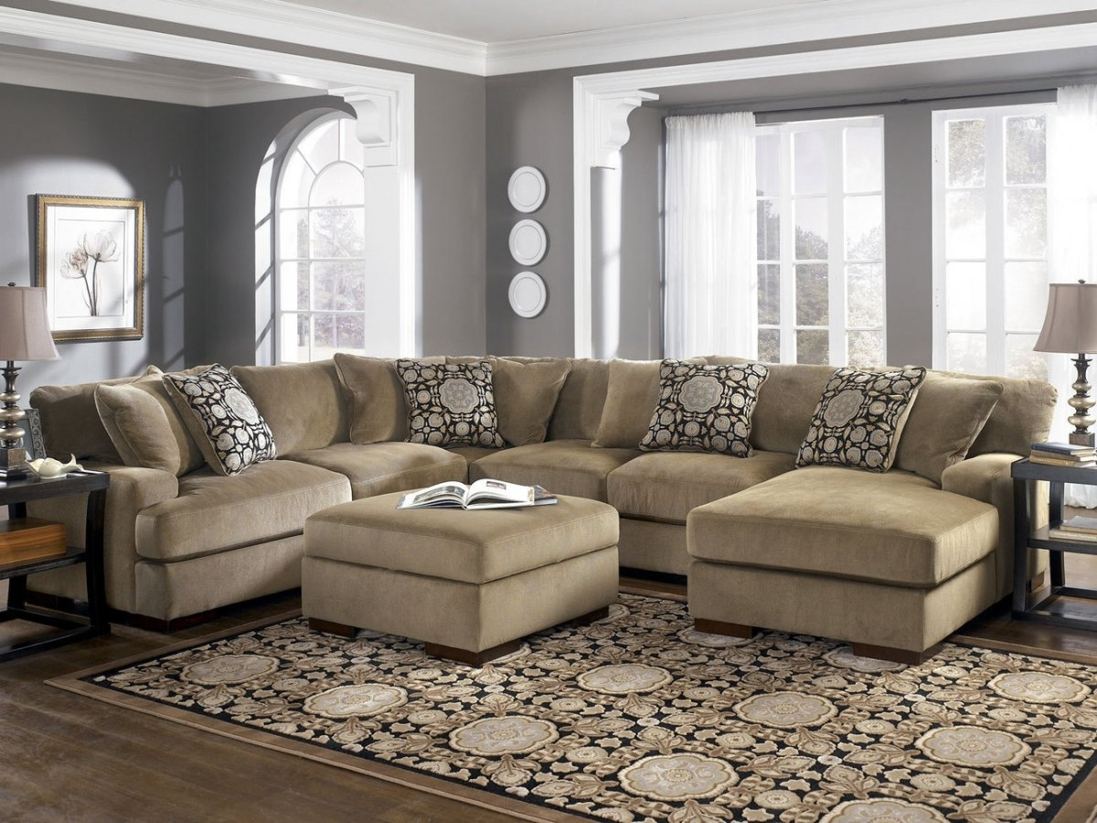 Oversized Sectional Sofa Set — Awesome Homes : Super Comfortable Inside Large Sectional Sofas (Image 7 of 10)