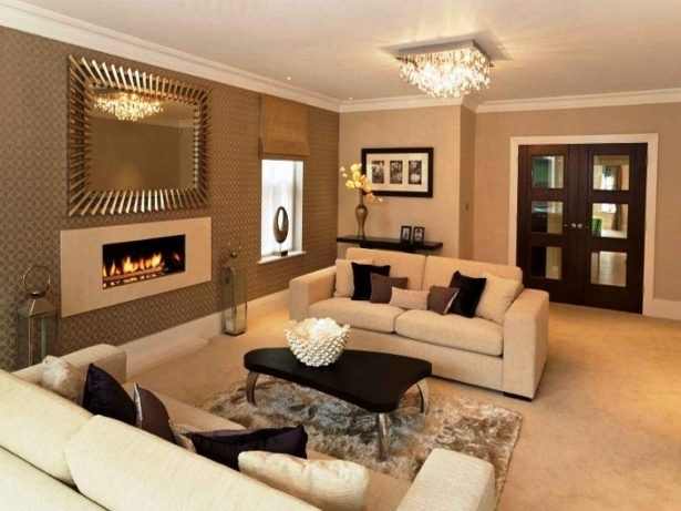 Paint, Pastel Cream Color Scheme White Ceilings Chocolate Wall For Wall Accents Color Combinations (View 15 of 15)
