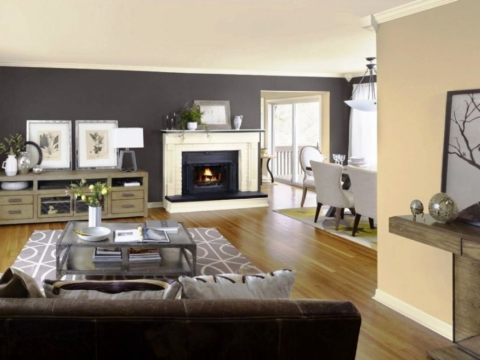 Paint Room Images Blue Grey Accent Wall Accent Wall Color In Wall Accents For Small Living Room (Image 10 of 15)