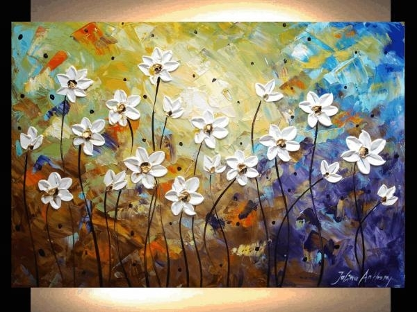 Painting Abstract Painting Flowers Abstract Landscape Painting Throughout Abstract Landscape Wall Art (View 2 of 15)