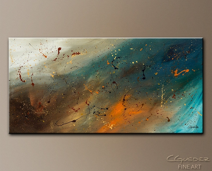 Paintings Abstract Art Canvas Wall Art Abstract Sensation Large Intended For Large Abstract Canvas Wall Art (View 7 of 15)
