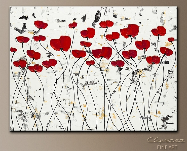 Paintings For Sale Wall Art Garden Of Hope – Textured Abstract Within Abstract Garden Wall Art (View 9 of 15)