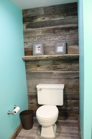 Pallet Bathroom Wall – Google Search | For The Home | Pinterest In Wall Accents Behind Toilet (View 9 of 15)