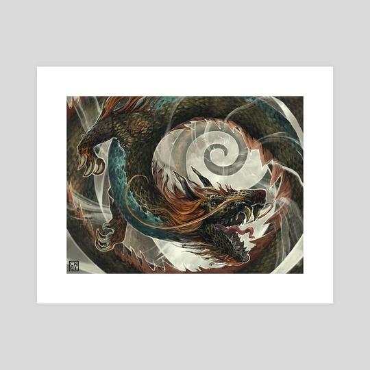 Pan Ku Is Baniched, An Art Printcarlos Nct – Inprnt Within Ku Canvas Wall Art (View 15 of 15)