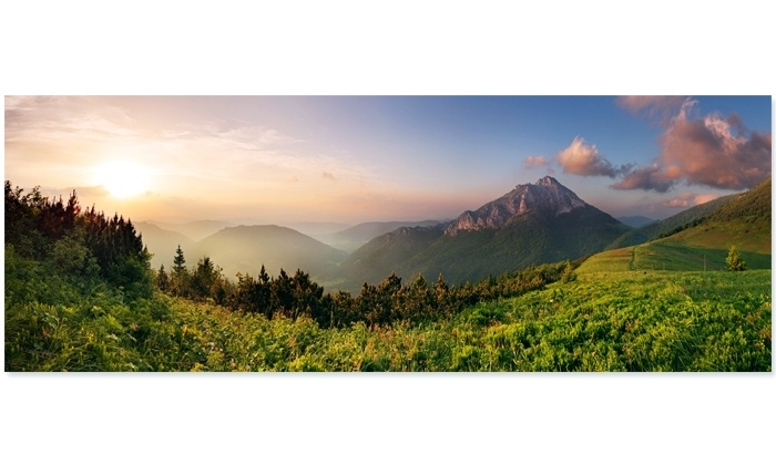 Panoramic Or Canvas Prints – Art Warehouse | Livingsocial Intended For Panoramic Canvas Wall Art (Image 9 of 15)