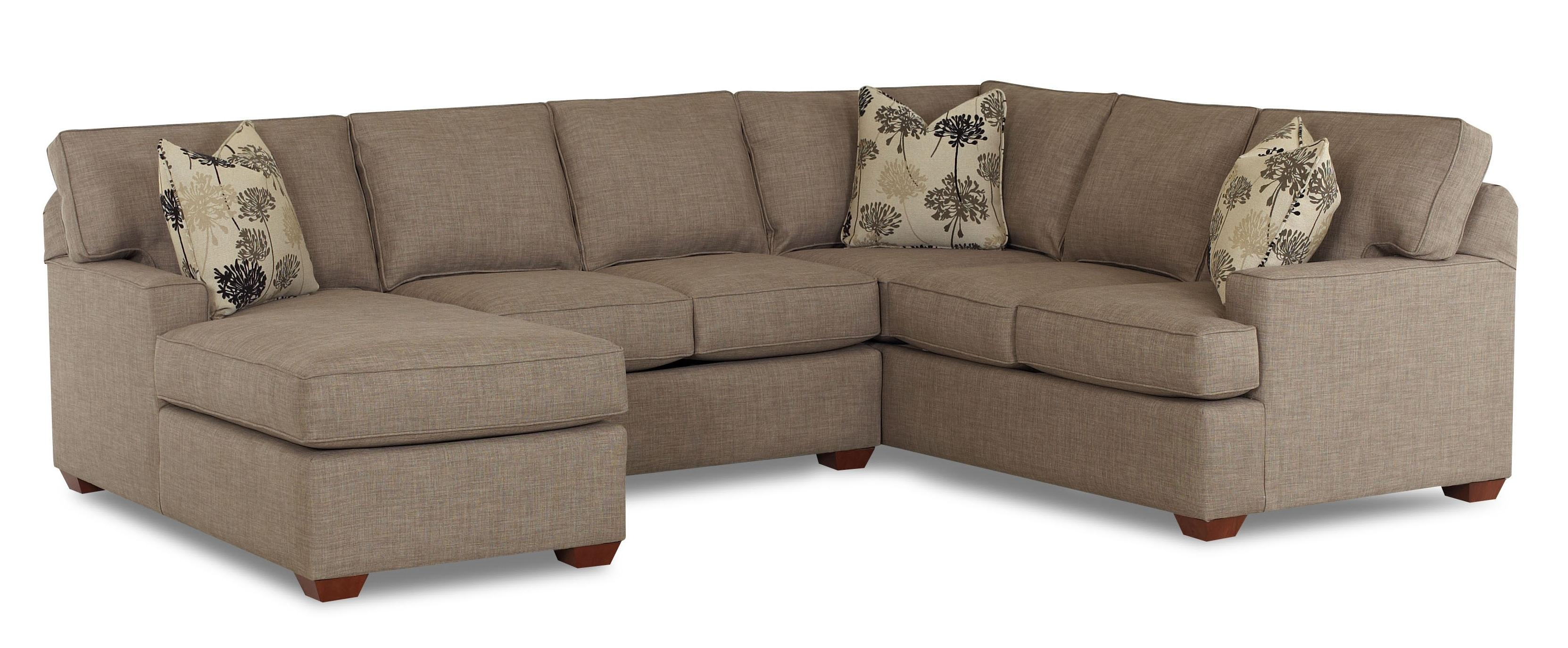 Pantego 3 Piece Sectional Sofa With Raf Chaiseklaussner | Home Inside Nova Scotia Sectional Sofas (View 5 of 10)