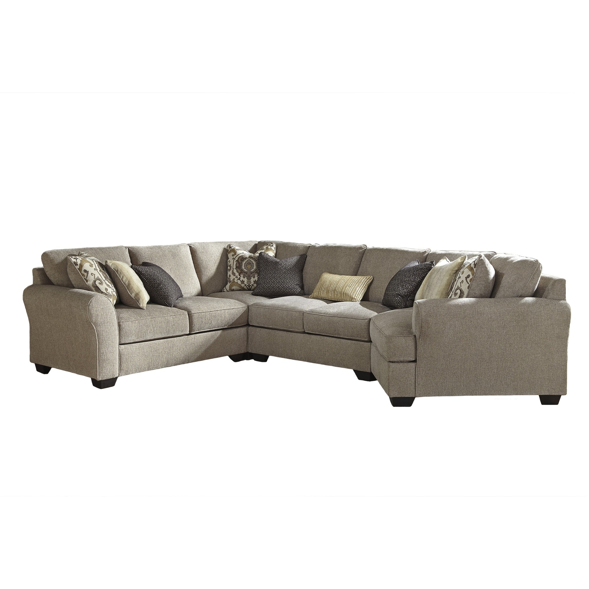 Pantomine Right Hand Facing 4 Piece Sectional | Tepperman's Throughout Teppermans Sectional Sofas (View 10 of 10)