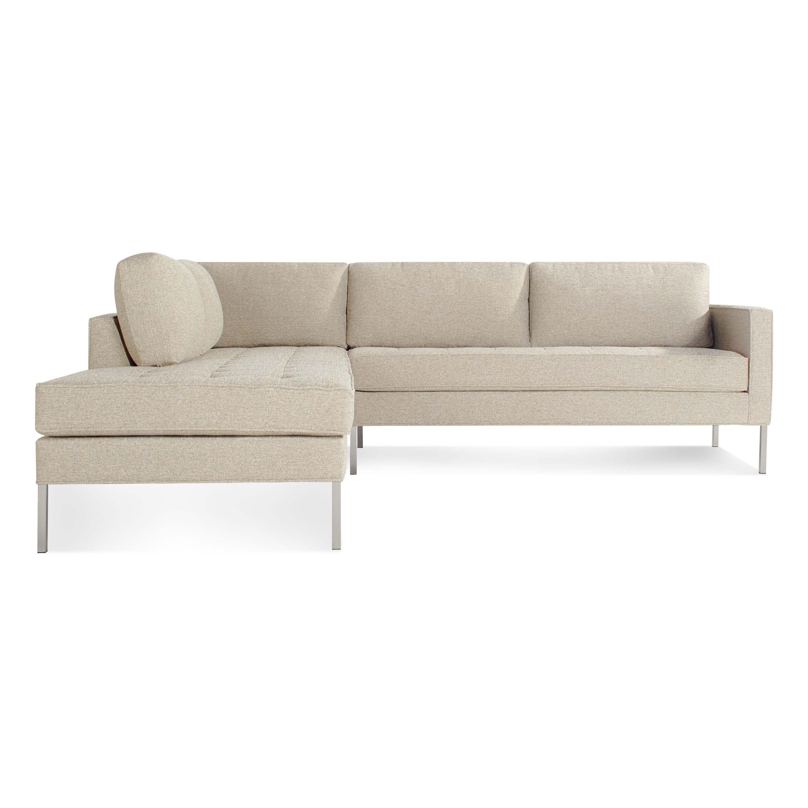 Paramount Left Sectional Sofa – Modern Designer Sofas | Blu Dot Within Newfoundland Sectional Sofas (View 7 of 10)