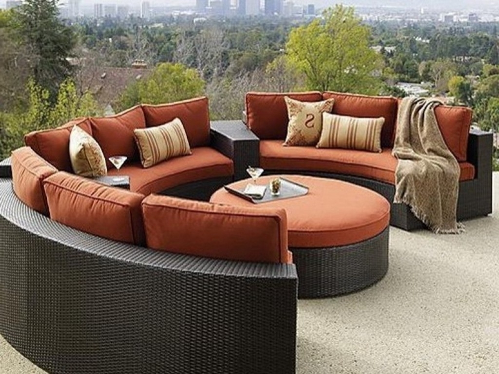Patio : Outdoor Sofa Sets Clearance L Shaped Outdoor Sofa Front Inside Naples Fl Sectional Sofas (Image 7 of 10)