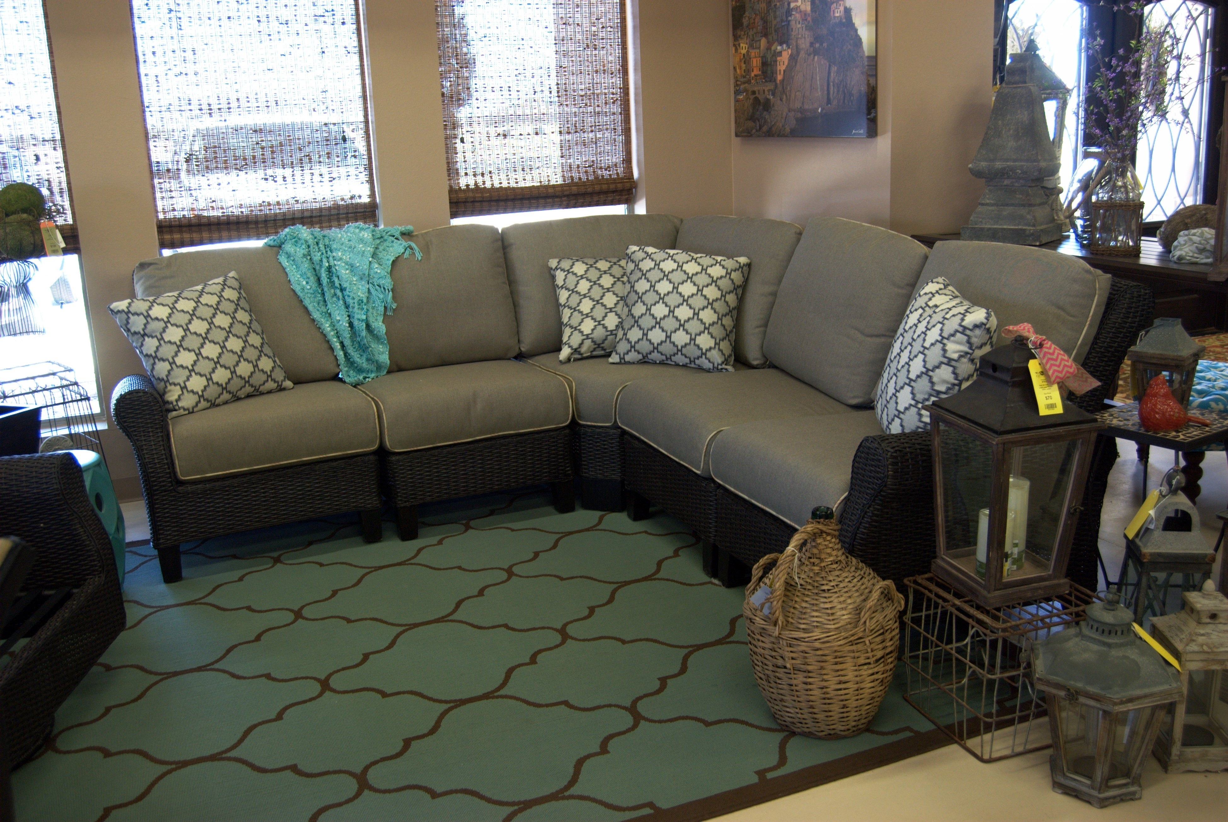 Patio Renaissance Monterrey Sectional | Outdoor L Shaped Sectionals Regarding Lubbock Sectional Sofas (View 5 of 10)
