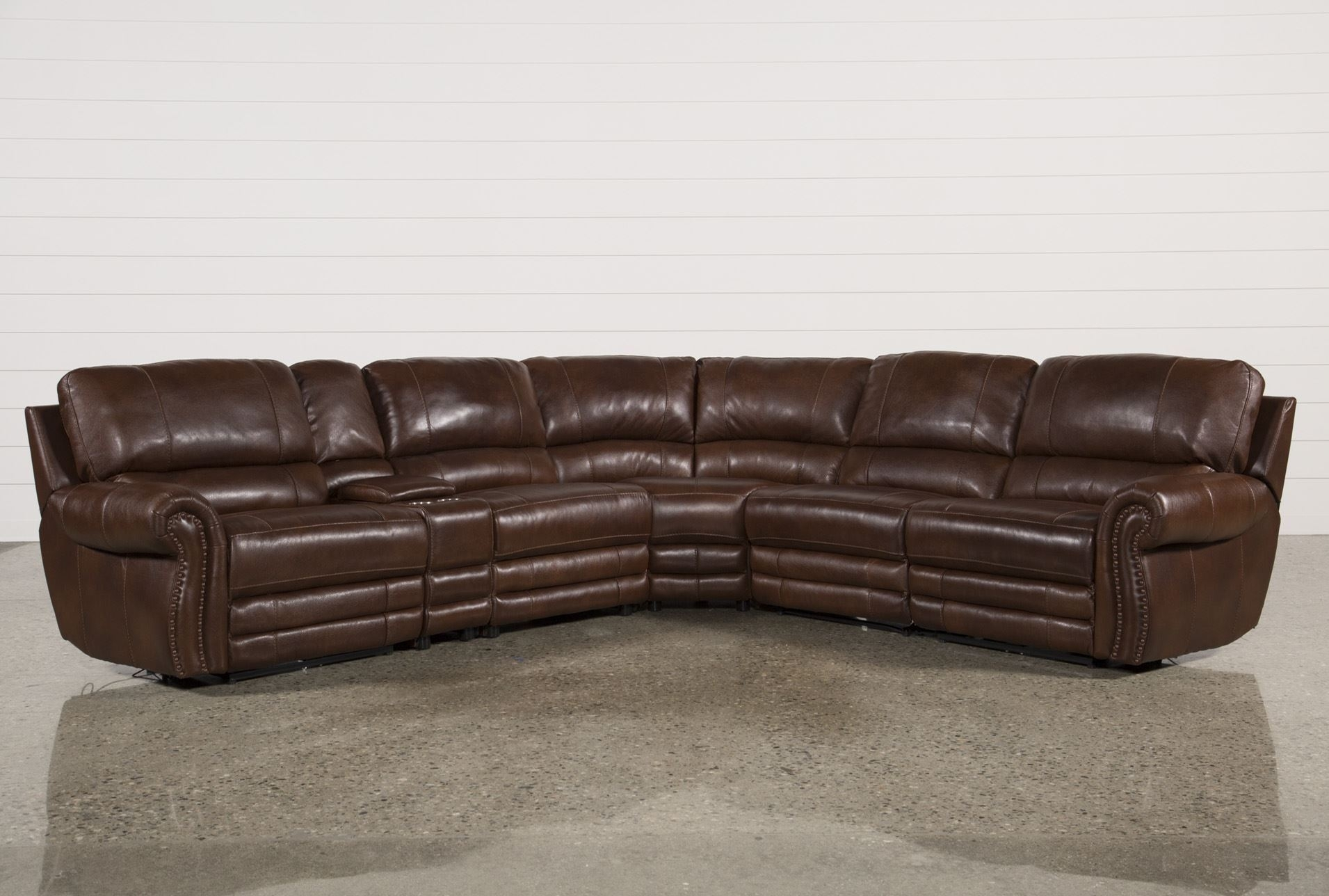Perfect 6 Piece Leather Sectional Sofa 93 About Remodel With 6 Piece With 6 Piece Leather Sectional Sofas (Image 9 of 10)