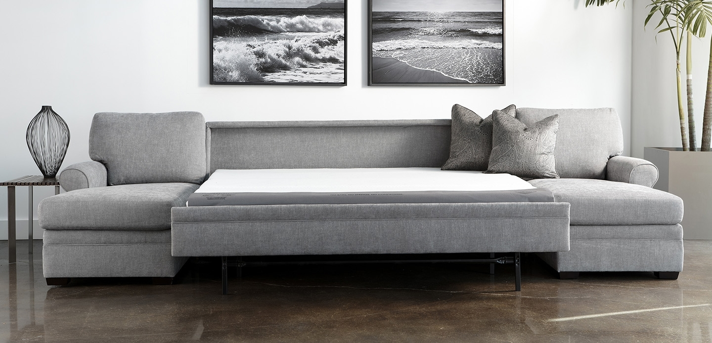 Perfect Leather Sectional Sleeper Sofa 78 For Sofas And Couches Set Throughout Sectional Sofas With Sleeper (Image 4 of 10)