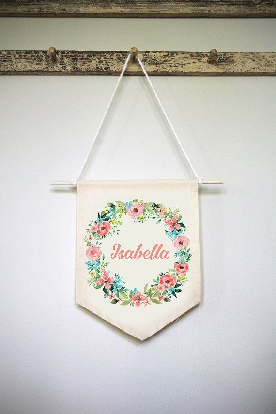 Featured Image of Personalized Fabric Wall Art